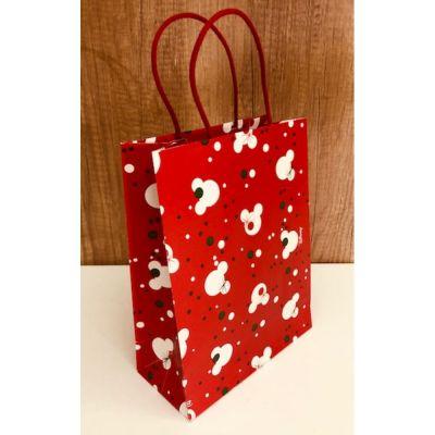 TOPOLINO DISNEY CHRISTMAS Busta Shopper Natale 27x11x3.5 cm
