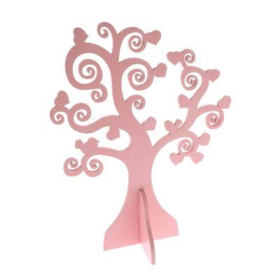 Albero della vita in legno decorativo 26 cm ROSA