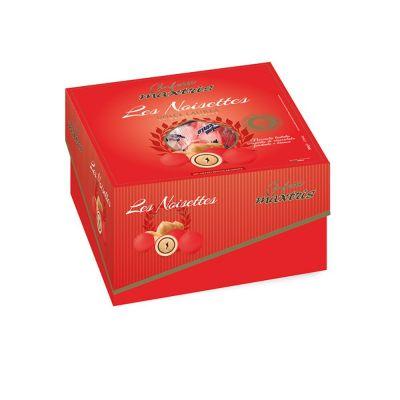 CONFETTI MAXTRIS DOLCE LAUREA LES NOISETTES colore ROSSO 500 gr