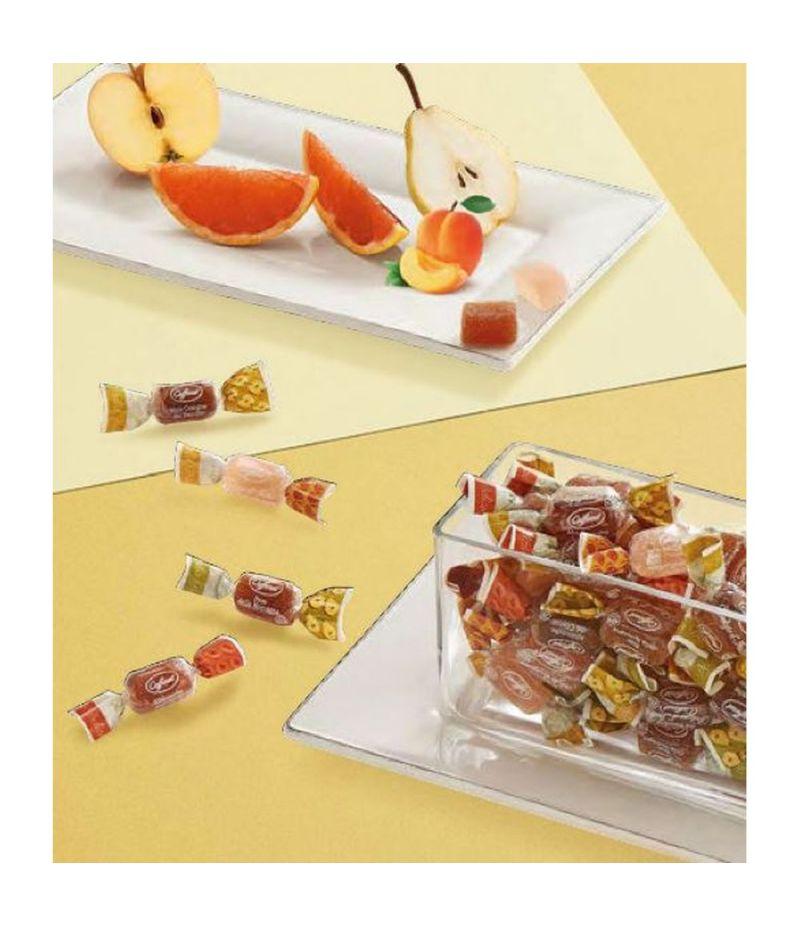 DELZIONE D'ITALIA CAFFAREL 500 gr caramelle gelee assortite