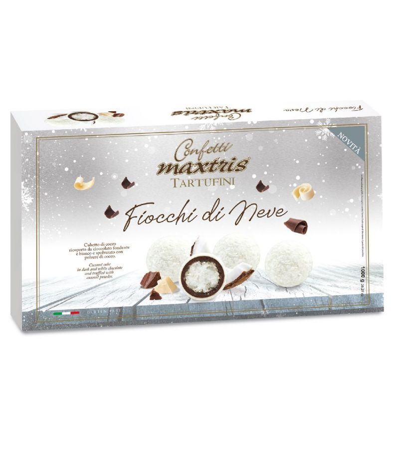 MAXTRIS Tartufini al COCCO in scatola da 500 grammi