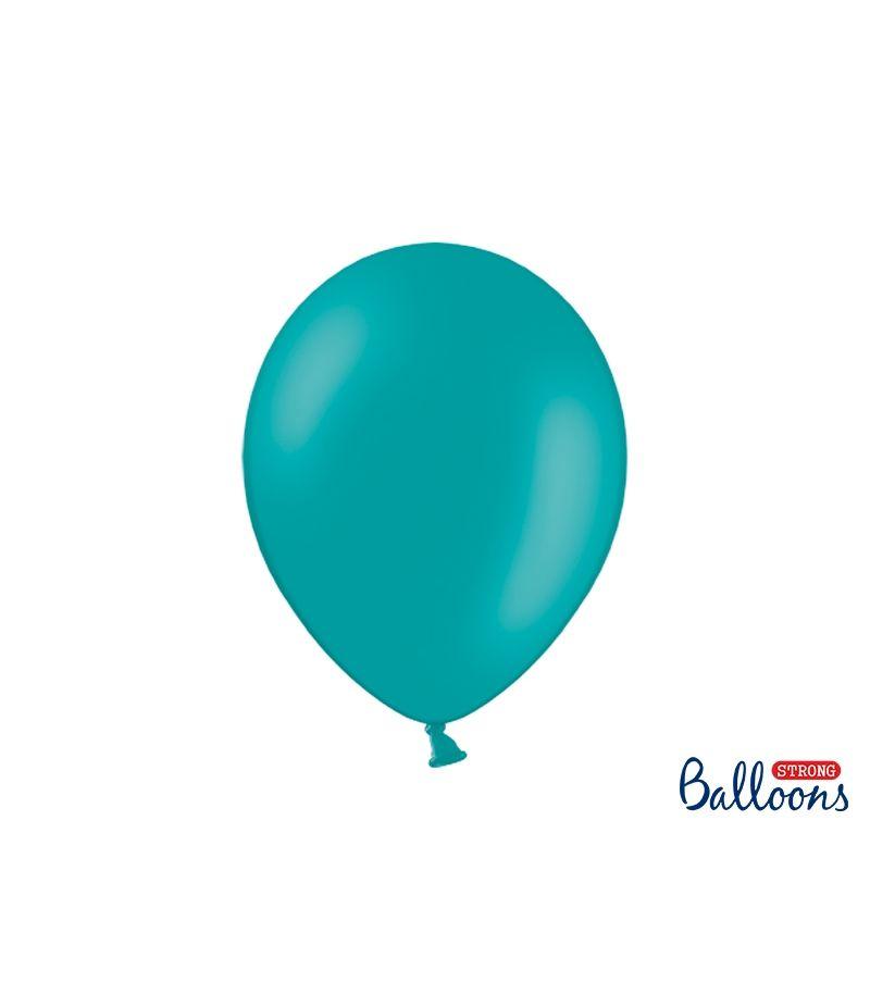 10 PZ Palloncini Palloncino Lattice 30 cm BLU LAGUNA pastello