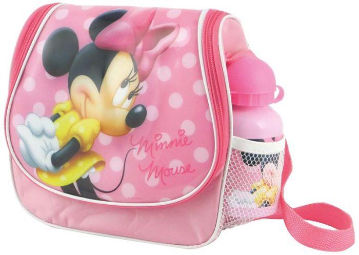 Borsa borsetta termica per bambine MINNIE disney con borraccia