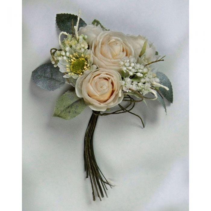 Bouquet Sposa Avorio.Bouquet Sposa Avorio Con Fiori Artificiali