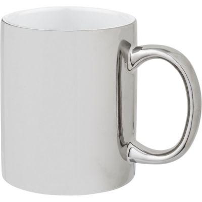 Tazza mug colazione in ceramica da 350 ml Gleam con esterno lucido