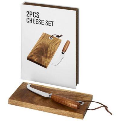 Set regalo formaggio 3 pezzi Nantes in scatola regalo
