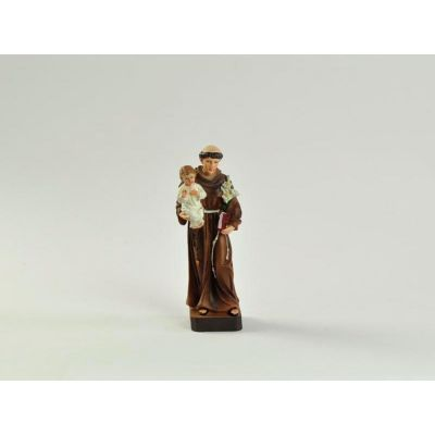 SANT'ANTONIO in resina da 19 cm statua religiosa