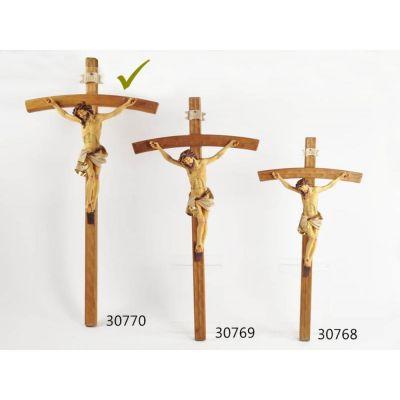 CROCIFISSO in legno da 76 cm articolo religioso