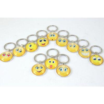 Portachiavi Emoticon Emoji Smile 1 A SCELTA bomboniera
