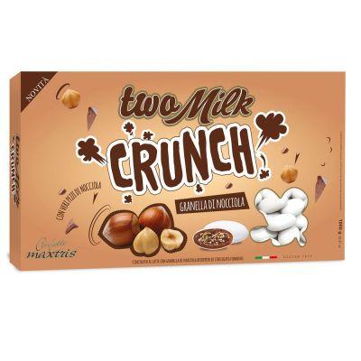 CONFETTI MAXTRIS two milk crunch GRANDELLA DI NOCCIOLA 1 KG