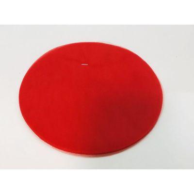 50X Velo Tulle portaconfetti ROSSO tondo 23 cm certificato per alimenti