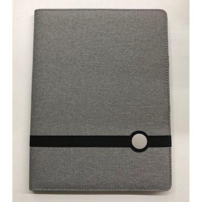 Cartella Portadocumenti A4 in nylon colore grigio