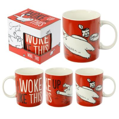 Tazza mug colazione Simon's Cat - I Woke Up Like This