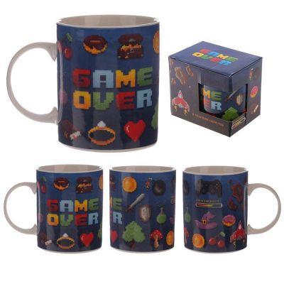 Tazza mug colazione in ceramica GAME OVER
