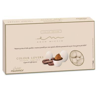 Confetti ENZO MICCIO Maxtris NUANCE TORTORA al CAFFE' ESPRESSO 1 KG