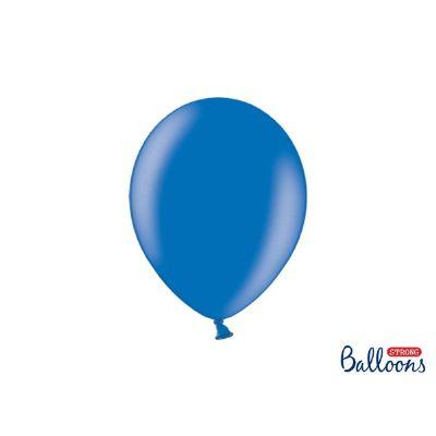 10 PZ Palloncino Palloncini Lattice 12 Pollici 27 cm BLU metallic