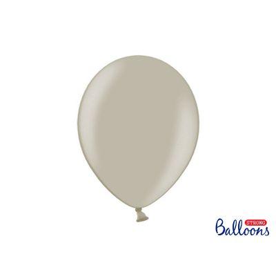 100 PZ Palloncini Palloncino Lattice 30 cm GRIGIO CALDO pastello