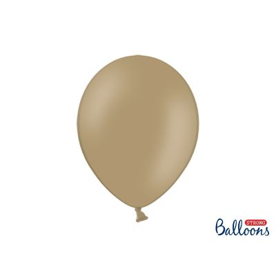 50 PZ Palloncini Palloncino Lattice 30 cm CAPPUCCINO pastello