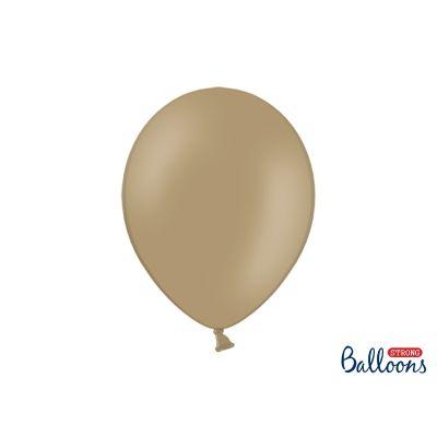 100 PZ Palloncini Palloncino Lattice 30 cm CAPPUCCINO pastello
