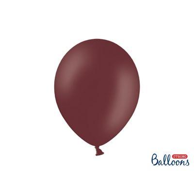100 PZ Palloncini Palloncino Lattice 30 cm MARRONE pastello