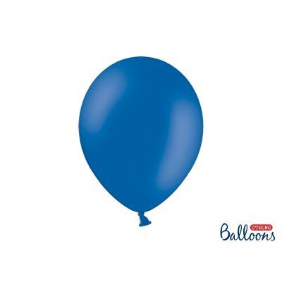 50 PZ Palloncini Palloncino Lattice 30 cm BLU pastello