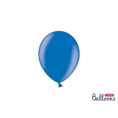 100 PZ Palloncino Palloncini Lattice 23 cm BLU metallic
