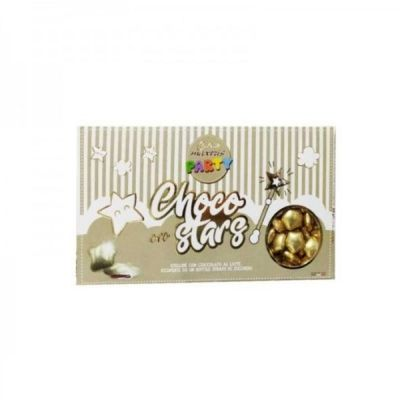 CONFETTI MAXTRIS LINEA PARTY Stelline DORATE cioccolato latte 500gr