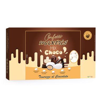 CONFETTI MAXTRIS scatola da 1 KG gusto MIX CHOCO