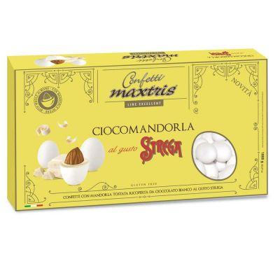 Confetti MAXTRIS 1 kg GUSTO LIQUORE STREGA colore bianco